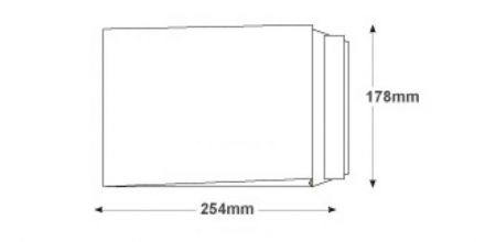 254 x 178 - White Gusset Envelopes - 120gsm - Non Window - Peel & Seal - image 2