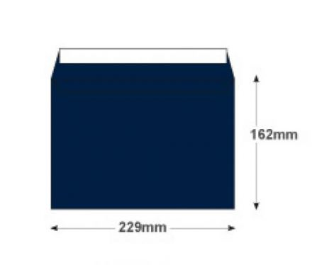 C5 - Oxford Intensive Blue Envelopes - 120gsm - Non Window - Peel & Seal - image 2