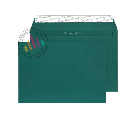 C5 - British Racing Green Envelopes - 120gsm - Non Window - Peel and Seal