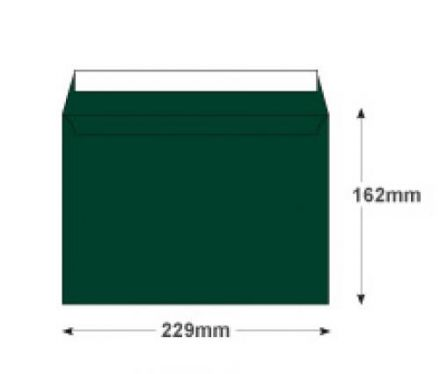 C5 - British Racing Green Envelopes - 120gsm - Non Window - Peel and Seal - image 2