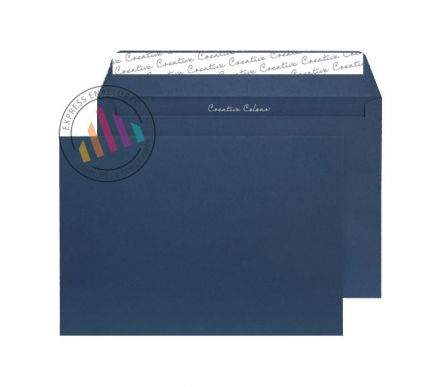 C4 - Oxford Intensive Blue Envelopes - 120gsm - Non Window - Peel and Seal