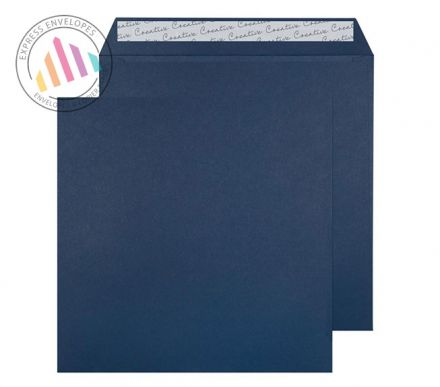 220 x 220mm -  Oxford Blue Envelopes - 120gsm - Non Window - Peel & Seal