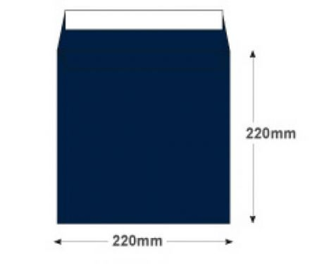 220 x 220mm -  Oxford Blue Envelopes - 120gsm - Non Window - Peel & Seal - image 2