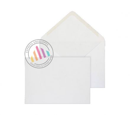 C5 - White Invitation Envelopes - 100gsm - Non Window - Gummed
