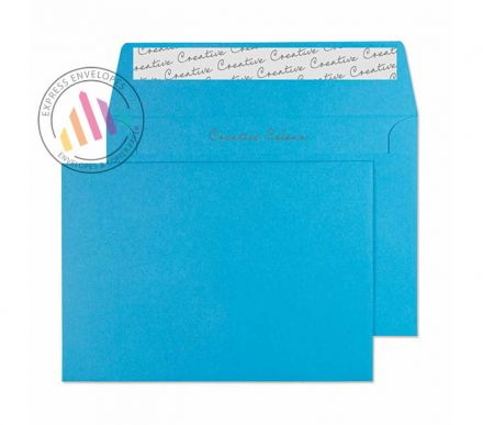 C6 - Caribbean Blue Envelopes - 120gsm - Non Window - Peel and Seal