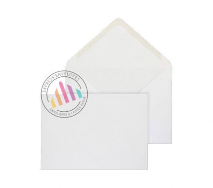 C5 - White Invitation Envelopes - 120gsm - Non Window - Gummed