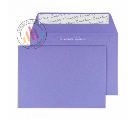 C6 - Summer Violet Envelopes - 120gsm - Non Window - Peel and Seal