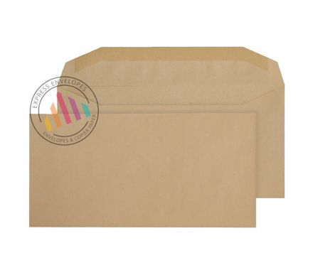 121×235mm - Manilla Mailing Envelopes - 80gsm - Non Window - Gummed