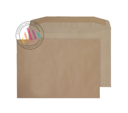 C4 - Manilla Mailing Envelopes - 100gsm - Non Window - Gummed
