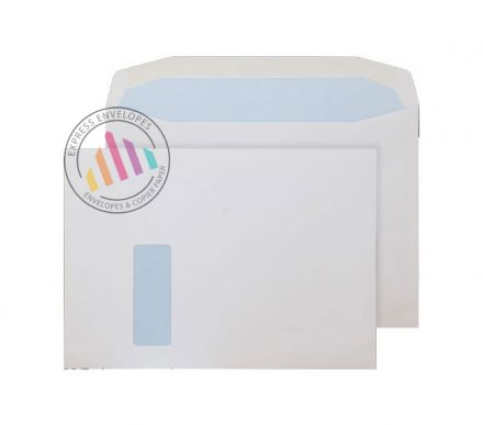 C4 - Matt Coated Mailing Envelopes - 115gsm - Window - Gummed