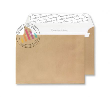 C5 - Metallic Gold Envelopes - 130gsm - Non Window - Peel & Seal