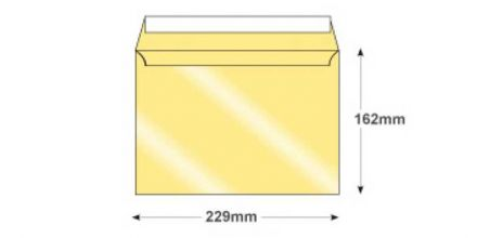 C5 - Pearl Ivory Envelopes - 120gsm - Non Window - Peel & Seal - image 2