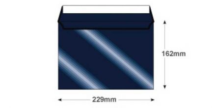 C5 - Midnight Blue Envelopes - 120gsm - Non Window - Peel & Seal - image 2