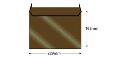 C5 - Antique Bronze Envelopes - 120gsm - Non Window - Peel & Seal - image 2