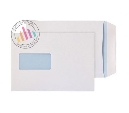 C5 - Ultra White Commercial Envelopes - 120gsm - Window - Peel & Seal