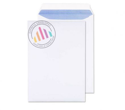 C4 - Ultra White Commercial Envelopes - 120gsm - Non Window - Peel & Seal
