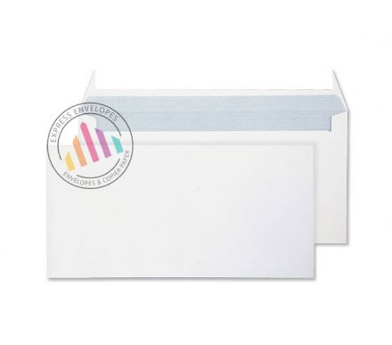 DL+ - Ultra White Commercial Envelopes - 120gsm - Non Window - Peel & Seal
