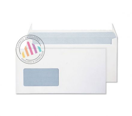 DL+ - White Commercial Envelopes - 120gsm -  Window - Peel & Seal