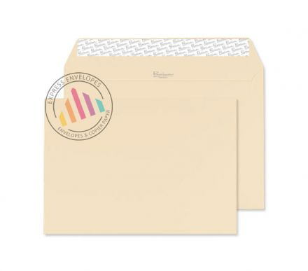 C5 - Cream Wove Envelopes - 120gsm - Non Window - Peel & Seal