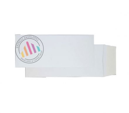 305x127mm - Ultra White Optima Card - 210gsm - Non Window - Peel & Seal