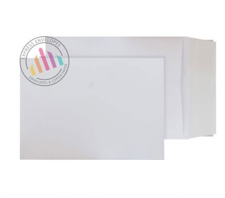 C4 - Ultra White Card Envelopes - 210gsm - Non Window - Peel & Seal