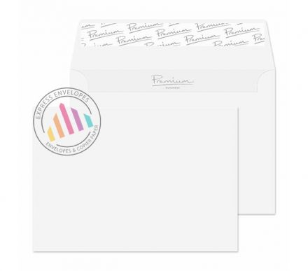 C6 - Ice White Wove Envelopes - 120gsm - Non Window - Peel & Seal
