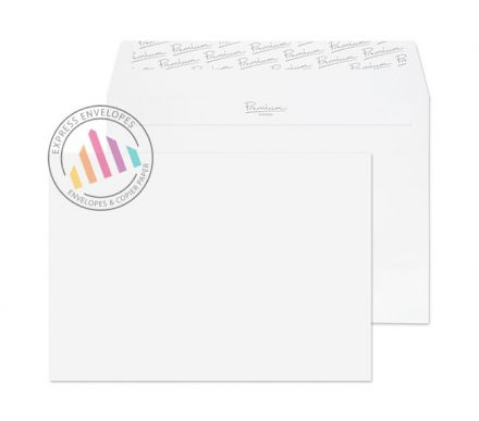 C5 - Ice White Wove Envelopes - 120gsm - Non Window - Peel & Seal