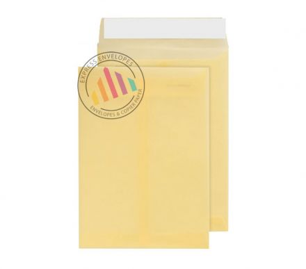 C5 - Translucent Cream Envelopes - 100gsm - Non Window - Peel & Seal