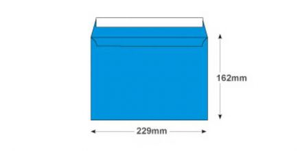C5 - Caribbean Blue Envelopes - 120gsm - Non Window - Peel and Seal - image 2
