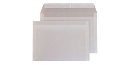 C6 - Translucent White Envelopes - 110gsm - Non Window - Peel & Seal