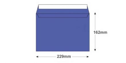 C5 - Summer Violet Envelopes - 120gsm - Non Window - Peel and Seal - image 2