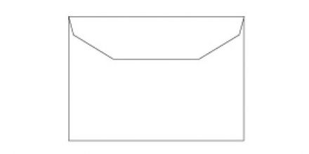 C5 - White Mailing Envelopes - 80gsm - Non Window - Gummed - image 2