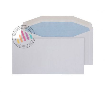 DL+ - White Mailing Envelopes - 80gsm - Non Window - Gummed