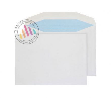 C5 - White Mailing Envelopes - 90gsm - Non Window - Gummed