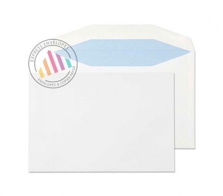 C5+ - White Mailing Envelopes - 90gsm - Non Window - Gummed