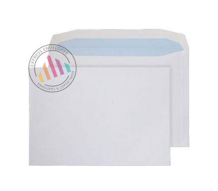 C4 - White Mailing Envelopes - 120gsm - Non Window - Gummed