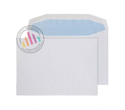 C5 - White Mailing Envelopes - 110gsm - Non Window - Gummed