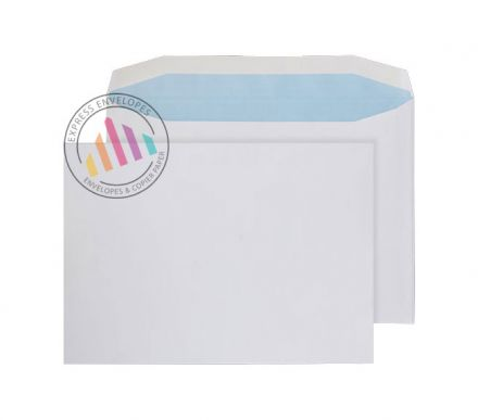 C4+ - White Mailing Envelopes - 100gsm - Window - Gummed