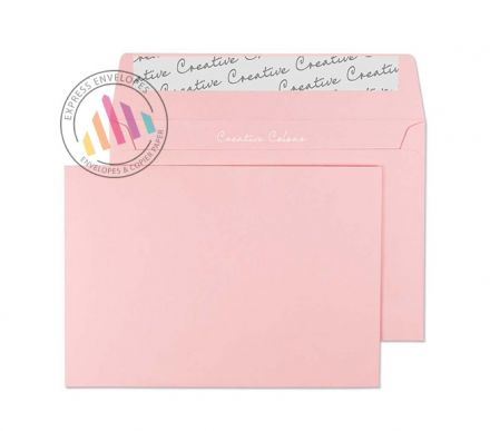C6 - Baby Pink Envelopes - 120gsm - Non Window - Peel and Seal
